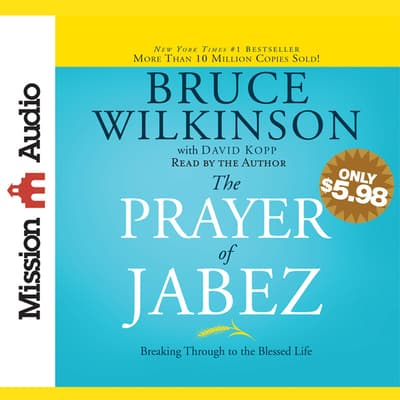 Prayer of Jabez by Bruce Wilkinson audiobook