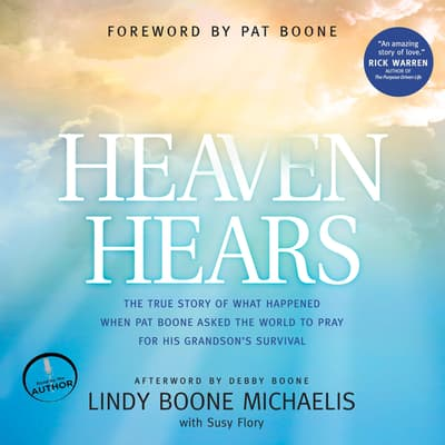 Heaven Hears by Lindy Boone Michaelis audiobook