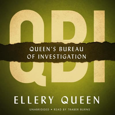 QBI by Ellery Queen audiobook
