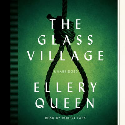 The Glass Village by Ellery Queen audiobook