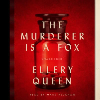 The Murderer Is a Fox by Ellery Queen audiobook