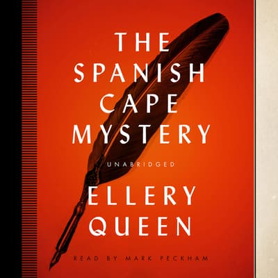 The Spanish Cape Mystery by Ellery Queen audiobook