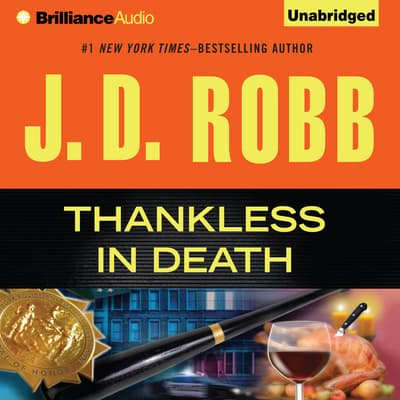 Thankless in Death by J. D. Robb audiobook