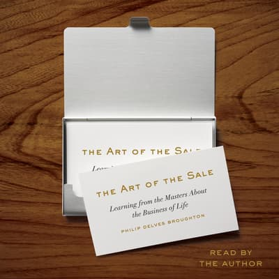 The Art of the Sale by Philip Delves Broughton audiobook