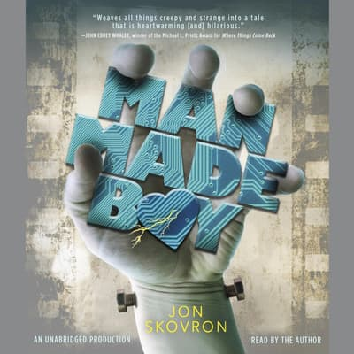 Man Made Boy by Jon Skovron audiobook