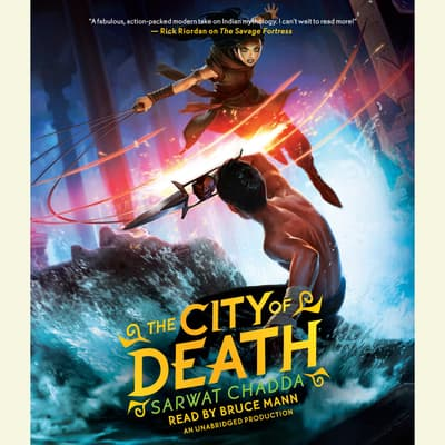 The City of Death by Sarwat Chadda audiobook