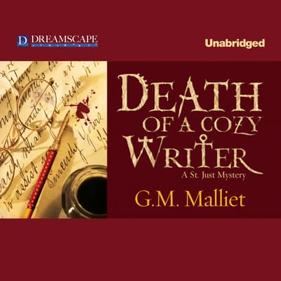 Death of a Cozy Writer by G. M. Malliet audiobook