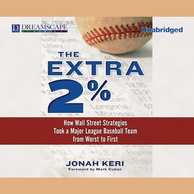 The Extra 2% by Jonah Keri audiobook