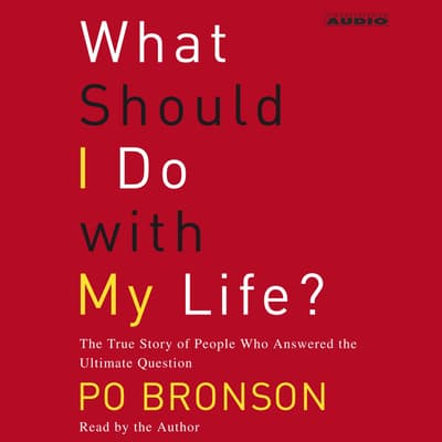 What Should I Do With My Life? by Po Bronson audiobook