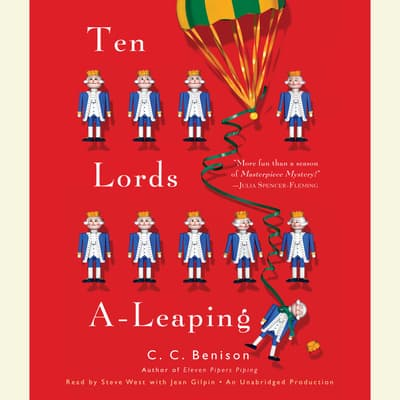 Ten Lords A-Leaping by C. C. Benison audiobook