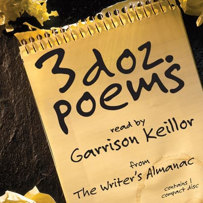 3 Dozen Poems by various authors audiobook