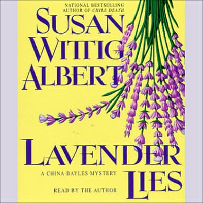 Lavender Lies by Susan Wittig Albert audiobook