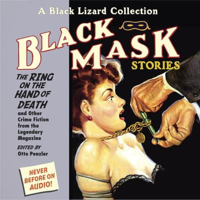 Black Mask 5: The Ring on the Hand of Death by Otto Penzler audiobook