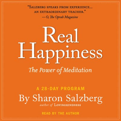 Real Happiness by Sharon Salzberg audiobook