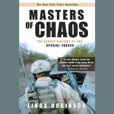 Masters of Chaos by Linda Robinson audiobook