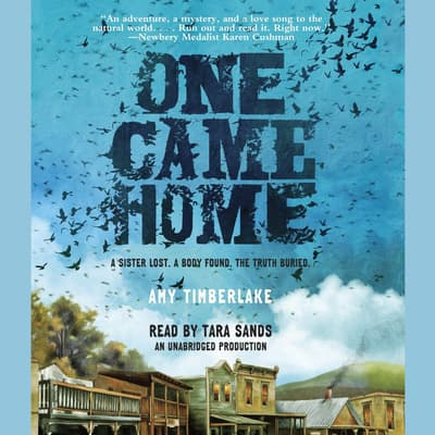 One Came Home by Amy Timberlake audiobook