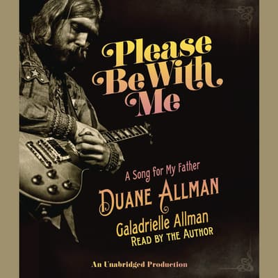 Please Be With Me by Galadrielle Allman audiobook