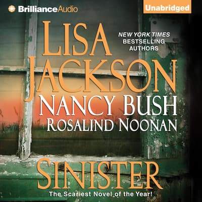 Sinister by Lisa Jackson audiobook