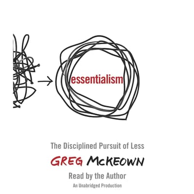 Essentialism by Greg McKeown audiobook