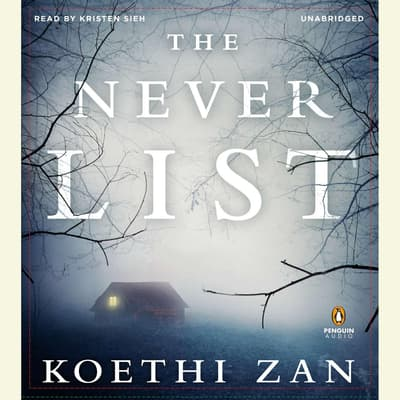 The Never List by Koethi Zan audiobook