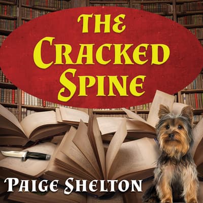 The Cracked Spine by Paige Shelton audiobook