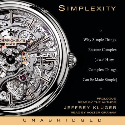 Simplexity by Jeffrey Kluger audiobook