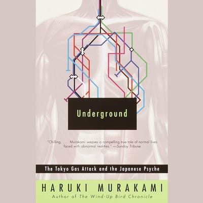Underground by Haruki Murakami audiobook