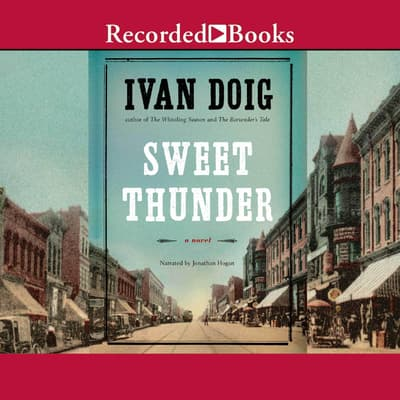 Sweet Thunder by Ivan Doig audiobook