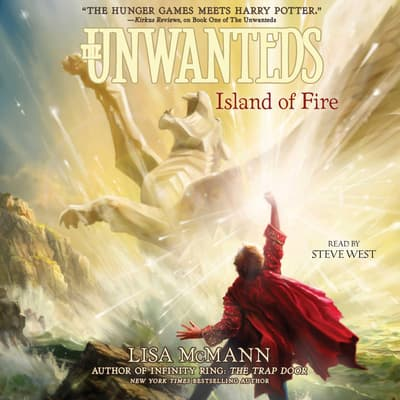 Island of Fire by Lisa McMann audiobook