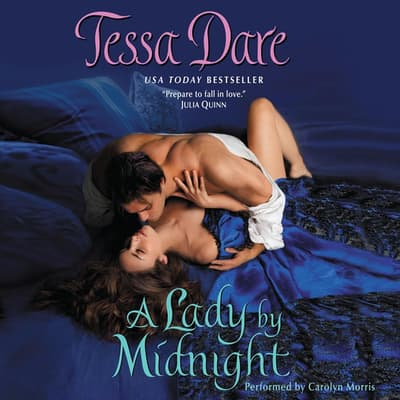 A Lady by Midnight by Tessa Dare audiobook