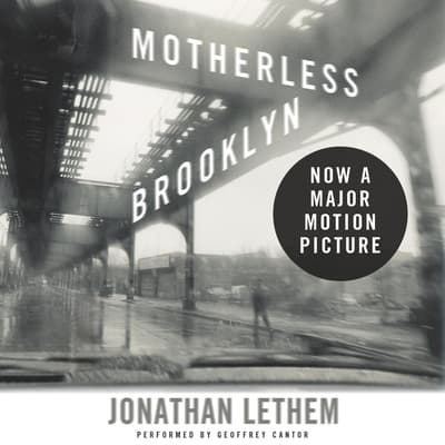 Motherless Brooklyn by Jonathan Lethem audiobook