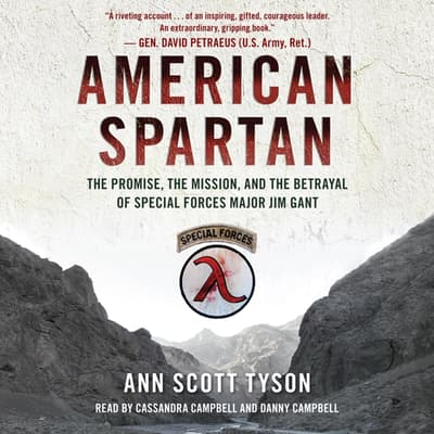American Spartan by Ann Scott Tyson audiobook