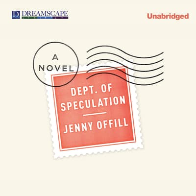 Dept. of Speculation by Jenny Offill audiobook