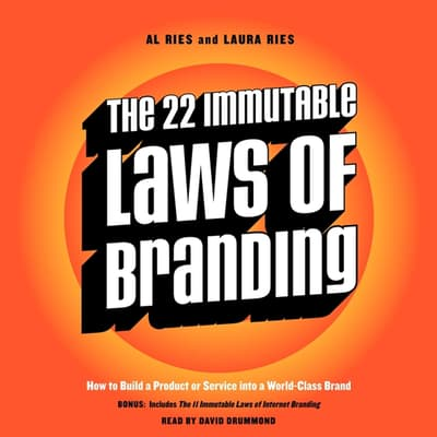The 22 Immutable Laws of Branding by Al Ries audiobook