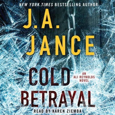 Cold Betrayal by J. A. Jance audiobook