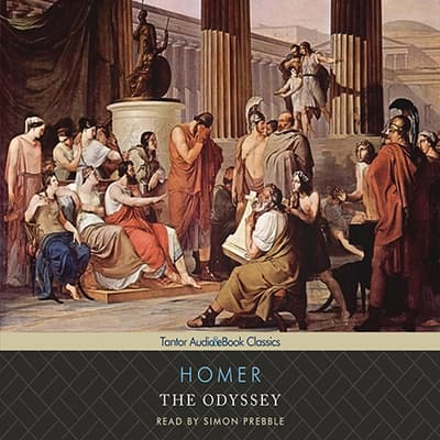 The Odyssey, with eBook by Homer audiobook