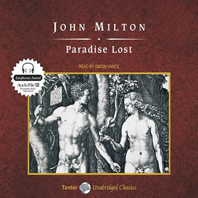 Paradise Lost, with eBook by John Milton audiobook