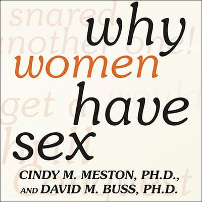 Why Women Have Sex by David M. Buss audiobook