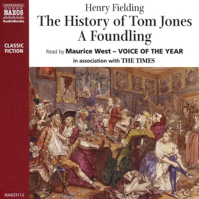 History of Tom Jones, A Foundling by Henry Fielding audiobook