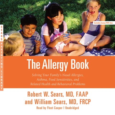 The Allergy Book by Robert W. Sears audiobook