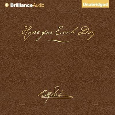 Hope for Each Day Signature Edition by Billy Graham audiobook