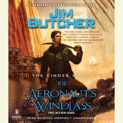 The Cinder Spires: The Aeronaut's Windlass by Jim Butcher audiobook