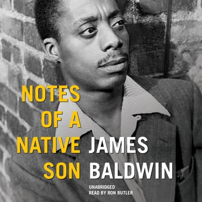 Notes of a Native Son by James Baldwin audiobook