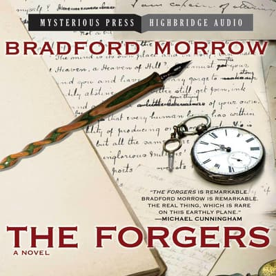 The Forgers by Bradford Morrow audiobook