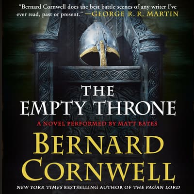 The Empty Throne by Bernard Cornwell audiobook