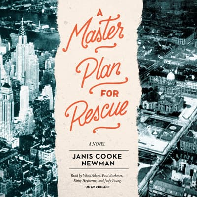 A Master Plan for Rescue by Janis Cooke Newman audiobook