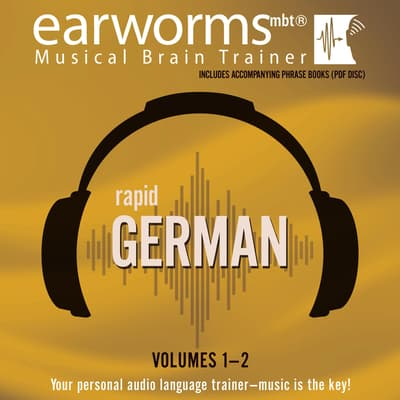 Rapid German, Vols. 1 & 2 by Earworms Learning audiobook