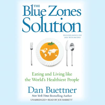 The Blue Zones Solution by Dan Buettner audiobook