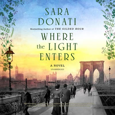 Where the Light Enters by Sara Donati audiobook