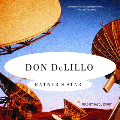 Ratner's Star by Don DeLillo audiobook